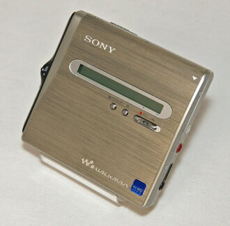 SONY Sony MZ-NH1 portable MD player MDLP response (Hi-MD recording and playback machines MD Walkman /NetMD) featured body