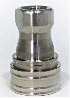 供新货/未使用的奥特莱斯物品特价NITTO日东工器8S-A迅速液压离合器耦和器CUPLA SP耦和器TypeA不锈钢/丁腈橡胶SUS/NBR中圧、泛使用的型