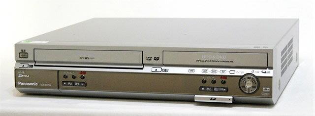 【中古】迅速発送+送料無料+動作保証!! Panasonic パナソニック DMR-EH70V-S シルバー HDD内蔵VHSビデオ一体型DVDレコーダー HDD:200GB 地デジチューナー非搭載【@YA管理1-53-KT5HC025539】