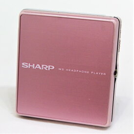 【中古】迅速発送+送料無料+動作保証!値引交渉歓迎! SHARP シャープ MD-ST600-P ピンク ポータブルMDプレーヤー (MD再生専用機) MDLP対応【@YA管理1-53-31029573】