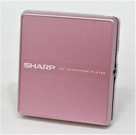 【中古】迅速発送+送料無料+動作保証!値引交渉歓迎! SHARP シャープ MD-ST600-P ピンク ポータブルMDプレーヤー(MD再生専用機) MDLP対応【@YA管理1-53-31131356】