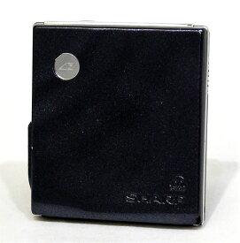 【中古】迅速発送+送料無料+動作保証!! SHARP シャープ MD-DS77-B ブラック ポータブルMDプレーヤー MDLP対応 1ビットデジタルアンプ搭載【@YA管理1-53-40802104】