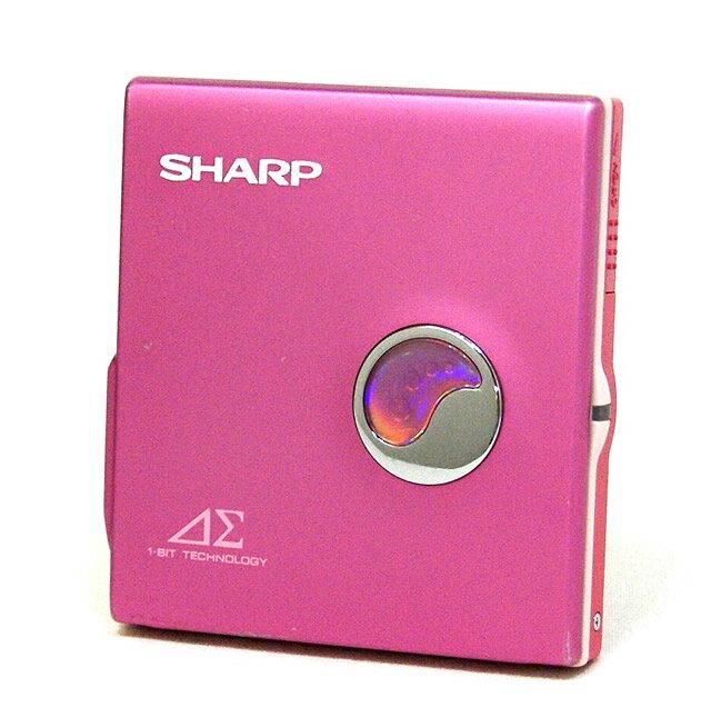 【中古】迅速発送+送料無料+動作保証!! SHARP シャープ MD-DS30-P ピンク 1-BIT ポータブルMDプレイヤー MDLP対応【@YA管理1-53-40415365】