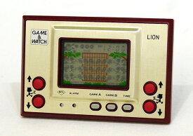 【中古】迅速発送+送料無料+動作保証!値引交渉歓迎!<<ランクAの美品です>>Nintendo 任天堂 LN-08 ライオン(LION) GAME&WATCH ゲーム&ウォッチ(ゲームウォッチ)ゴールドシリーズ 本体のみ【@YA管理1-8-03284527】