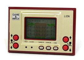 【中古】迅速発送+送料無料+動作保証!値引交渉歓迎! Nintendo 任天堂 LN-08 ライオン(LION) GAME&WATCH ゲーム&ウォッチ(ゲームウォッチ)ゴールドシリーズ 本体のみ【@YA管理1-8-NOLI】