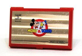 【中古】迅速発送+送料無料+動作保証!値引交渉歓迎! Nintendo 任天堂 DM-53 ミッキー&ドナルド(MICKEY&DONALD)GAME&WATCH ゲーム&ウォッチ(ゲームウォッチ) マルチスクリーン 本体のみ【@YA管理1-8-NOMI】