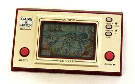 【中古】迅速発送+送料無料+動作保証!! Nintendo 任天堂 OC-22 オクトパス(OCTOPUS) GAME&WATCH ゲーム&ウォッチ(ゲームウォッチ) ワイドスクリーン 本体のみ【@YA管理1-53-05289300】