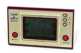 【中古】迅速発送+送料無料+動作保証!値引交渉歓迎! 任天堂 Nintendo FP-24 シェフ(CHEF) GAME&WATCH ゲーム&ウォッチ(ゲームウォッチ)ワイドスクリーン 本体のみ【@YA管理1-53-10837223】