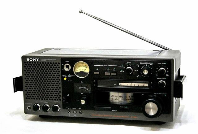 【中古】迅速発送+送料無料+動作保証!! 《貴重品・ランクAの美品です》 SONY ソニー ICF-6800A 31バンドマルチバンドレシーバー(FM/中波/短波/BCLラジオ) ビンテージ アンティーク【@YA管理1-53-10350】