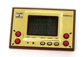 【中古】迅速発送+送料無料+動作保証!値引交渉歓迎! Nintendo 任天堂 MH-06 マンホール(MANHOLE) GAME&WATCH ゲーム&ウォッチ(ゲームウォッチ)ゴールドシリーズ 本体のみ【@YA管理1-8-MHNO】
