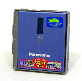 【中古】迅速発送+送料無料+動作保証!! Panasonic パナソニック SJ-MJ30-A ブルー ポータブルMDプレーヤー【@YA管理1-53-FD8JA01807】