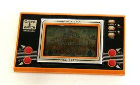【中古】迅速発送+送料無料+動作保証!値引交渉歓迎!<<概ね美品です>>Nintendo 任天堂 ID-29 ファイアアタック(FIRE ATTACK)GAME&WATCH ゲーム&ウォッチ(ゲームウォッチ)ワイドスクリーン(アラーム機能あり)【@YA管理1-53-11576754】