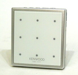 【中古】迅速発送+送料無料+動作保証!! KENWOOD ケンウッド DMC-T77-W ホワイト ポータブルMDプレーヤー(MD再生専用機) MDLP対応【@YA管理1-53-41100372】