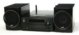 【中古】迅速発送+送料無料+動作保証!値引交渉歓迎! Victor ビクター JVC EX-N5 ブラック ウッドコーンオーディオコンポ (CD/チューナー/USB/ネットワークコンポ)(本体CA-EXN5とスピーカーSP-EXN5のセット) AirPlay/DLNA対応【@YA管理1-53-078L0233】
