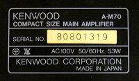 【中古】迅速発送+送料無料+動作保証!!KENWOODケンウッドA-M70パワーアンプビンテージヴィンテージレトロアンティーク【@YA管理1-53-80801319】