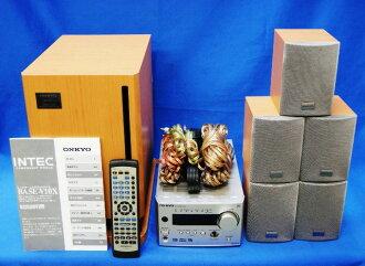 瑕疵,并且也支持推荐的优质地面数字电视广播的ONKYO安桥5.1ch家庭影院系统BASE-V10X