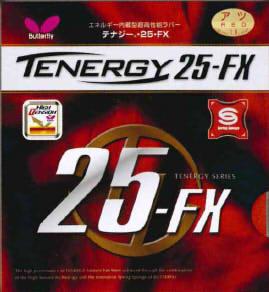 タマス 05910 卓球 テナジー 25FX エネルギー内蔵型裏ソフト 旧パッケージのためお買得!!