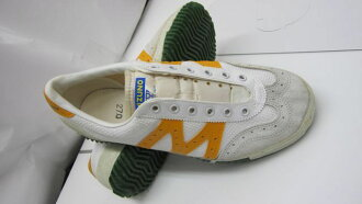 Mizuno M line ballet shoes ace player white X orange