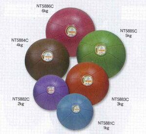 NISHI ネモメディシンボール ●重さ:4kg ●サイズ:Φ24cm ●カラー:ブラウン ★お買得セール!!