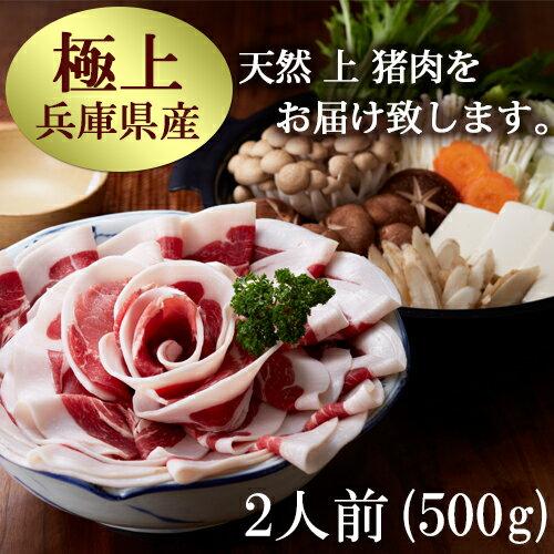 ぼたん鍋 猪肉 いのしし肉 イノシシ肉【上500g】3〜4人前 〈冷凍でお届け〉猪 猪肉 ぼたん鍋 ボタン鍋 イノシシ 天然 ジビエ