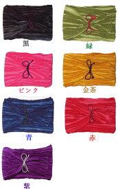 【祭り衣装】筋縞(スジシマ)巻帯 全7色 男女兼用