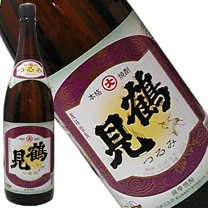 鶴見 25度 芋焼酎 1.8L【鹿児島県/大石酒造】【RCP】