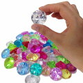 【宝石つかみ】カラー宝石ダイヤカット(約500g)【あす楽対応】