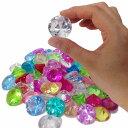【アクリルアイス】カラー宝石 ダイヤカット (約500g) 【あす楽対応】