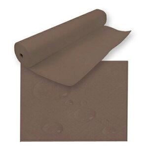 不織布 ペーパーシーツR(防水タイプ)ブラウン 80cm×90m(全長) ラミネート加工 ベッドシーツ