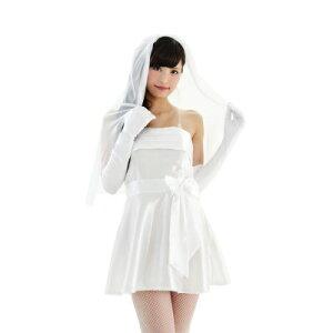 超絶カワイイ!天使の微笑み!ホワイト・ウェディングドレス!コスプレ/仮装