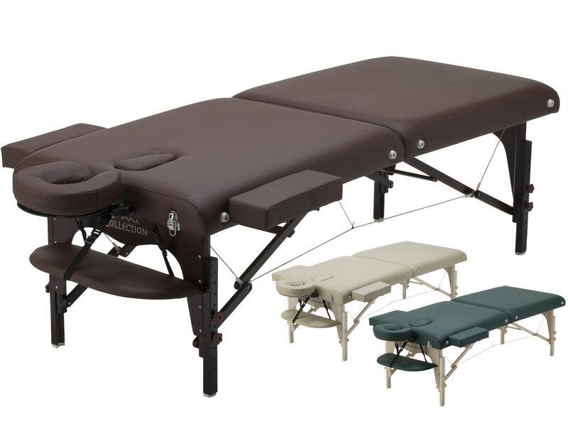 【送料無料】【有孔仕様】高級ワイド木製折りたたみベッド