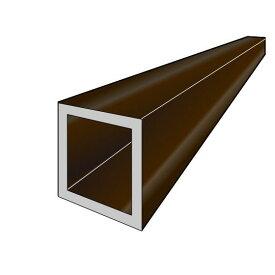 アルインコ 角パイプ 1本 寸法:30×30×1.5mm/長さ:4000mm ブロンズ(クリア付) アルミ型材,汎用材,ALINCO 品番:FB109B ※合計1万円以上で送料無料