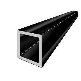 アルインコ 角パイプ 1本 寸法:70×70×2.0mm/長さ:4000mm ブラック (ツヤ消しクリア) アルミ型材,汎用材,ALINCO 品番:FB119K ※合計1万円以上で送料無料