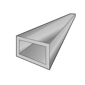 アルインコ 平角パイプ 1本 寸法:60×30×2.0mm/長さ:4000mm シルバー(クリア付) 品番:FB143S アルミ型材,汎用材,ALINCO ※合計1万円以上で送料無料