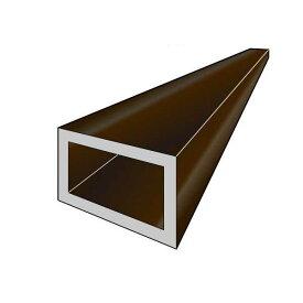アルインコ 平角パイプ 1本 寸法:60×30×2.0mm/長さ:4000mm ブロンズ(クリア付) 品番:FB143B アルミ型材,汎用材,ALINCO ※合計1万円以上で送料無料