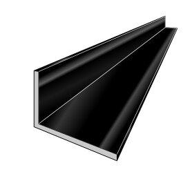 アルインコ 不等辺アングル(角)1本 寸法:25×50×3.0mm/長さ:4000mm ブラック (ツヤ消しクリア) アルミ型材,汎用材,ALINCO 品番:FA143K ※合計1万円以上で送料無料