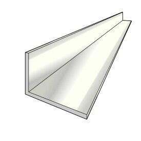アルインコ 不等辺アングル(角)1本 寸法:15×30×2.0mm/長さ:4000mm アイボリーホワイト(クリア付) アルミ型材,汎用材,ALINCO 品番:FA139W ※合計1万円以上で送料無料