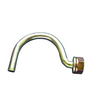 フックボルトS型300個セット。仮囲い鋼板・安全鋼板等とΦ48.6単管パイプなどを連結。U字フック。Jフック。単管パイプの受け金物として。補修部品。電線やケーブルの配線や看板(カンバン