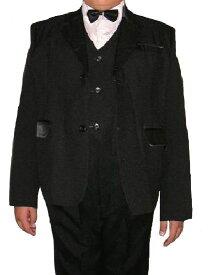 Boy'sフォーマル スーツ(黒) 5点セット