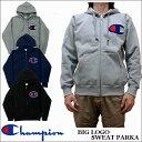 Champion  ビッグロゴ スウェット ジップアップ パーカー 全3色 C3-E128 チャンピオン
