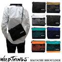 2017新作 WILD THINGS SACOCHE SHOULDER ワイルドシングス サコッシュ ショルダー バッグ WILDTHINGS WT-380-0072