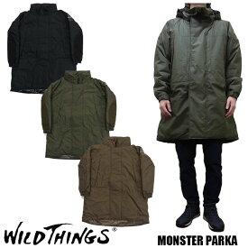 WILD THINGS ワイルドシングス MONSTER PARKA プリマロフト モンスターパーカー WILDTHINGS WT19104SN ジャケット コート