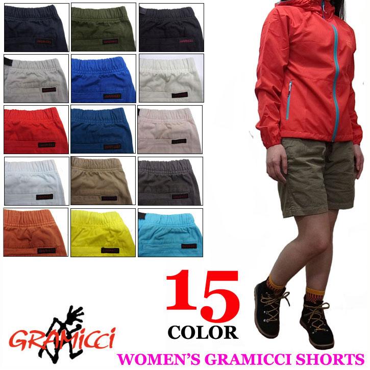 GRAMICCI WOMEN'S SHORTS 1100-56J グラミチ レディース ショートパンツ 全15色 ハーフパンツ