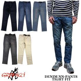 GRAMICCI DENIM NN-PANTS TIGHT FIT 全4色 グラミチ デニム ストレッチ ニュー ナローパンツ スリム 8818-DEJ