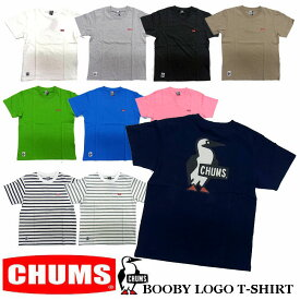 CHUMS BOOBY LOGO T-SHIRTS 全10色 メンズ チャムス ブービーバード Tシャツ CH01-1326