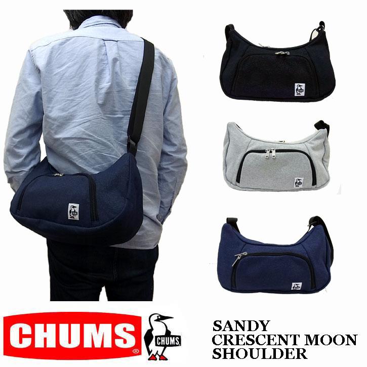 CHUMS SANDY CRESCENT MOON SHOULDER チャムス  クレセントムーン ショルダーバッグ ch60-2466 ボディーバッグ