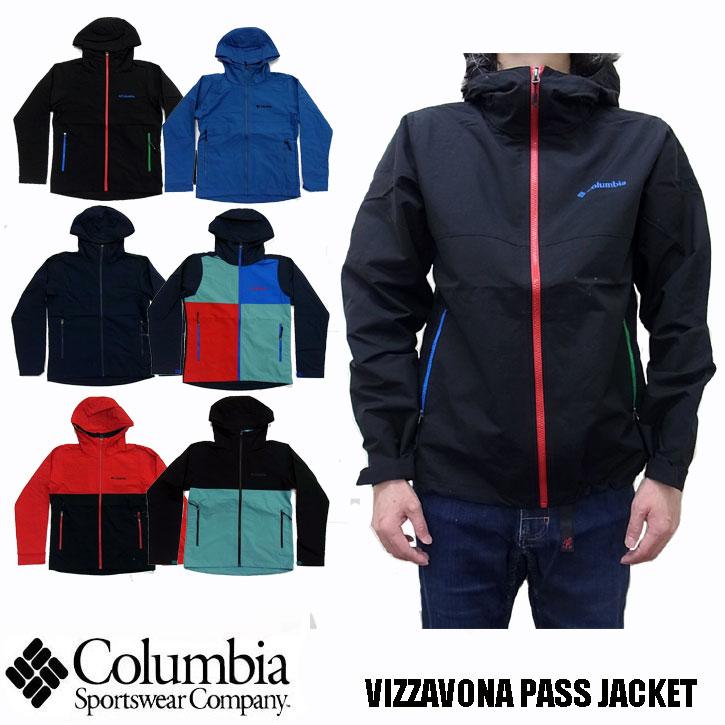 2018秋冬新作 Columbia VIZZAVONA PASS JACKET ヴィザヴォナパスジャケット PM3427 全6色 コロンビア ナイロンジャケット  マウンテンパーカー