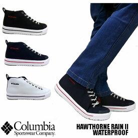 COLUMBIA HAWTHORNE RAIN II WATER PROOF 全3色 YU0258 メンズ レディース コロンビア ホーソンレイン ウォータープルーフ シューズ スニーカー ブーツ