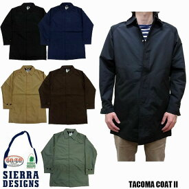 SIERRA DESIGNS TACOMA COAT II 全4色 8101 シエラデザイン タコマコート ステンカラーコート