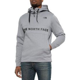 ノースフェイス パーカー メンズ トレイン N ゴー ロゴ フーディ ミッドグレー The North Face Men's Train N Go Logo Hoodie Mid Grey